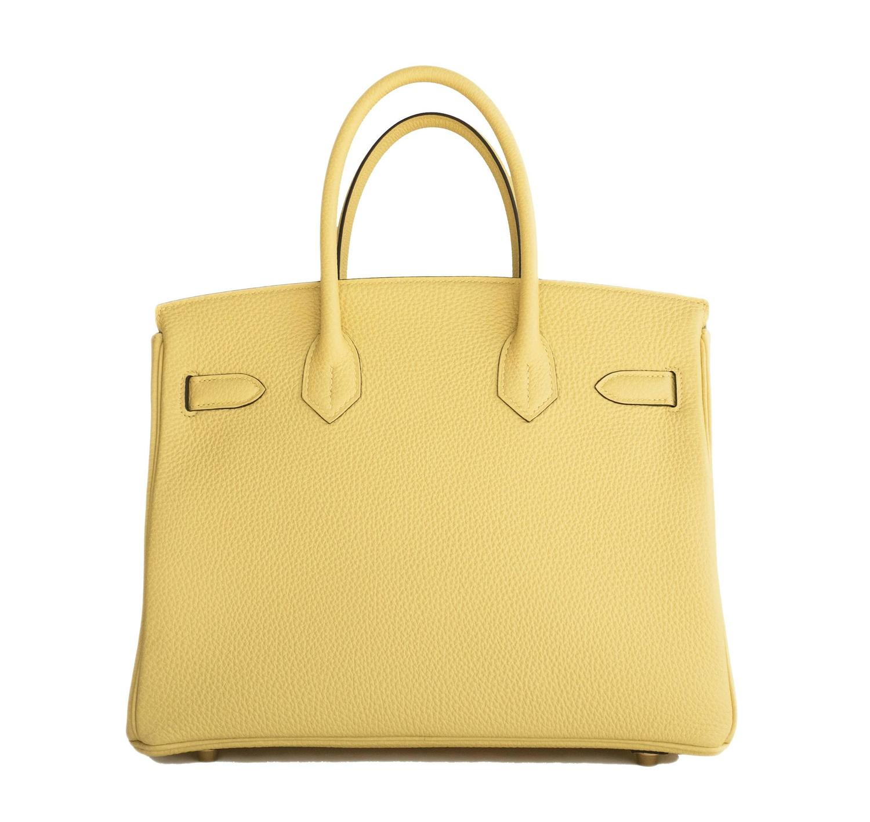 replica handbags 4 u - Hermes Jaune Poussin 30cm Togo Birkin Gold GHW Satchel Bag Sublime ...