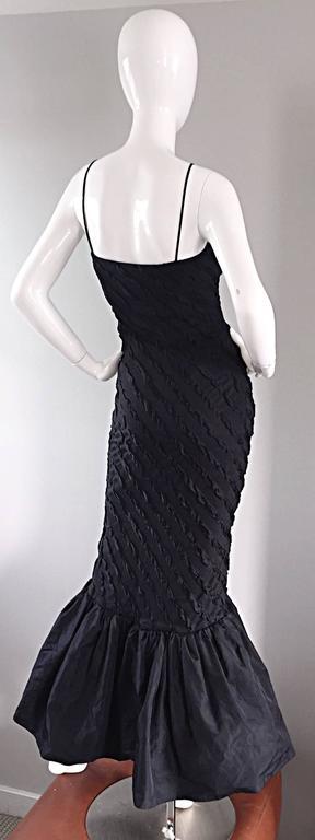 1950s Lilli Diamond Black Embroidered Vintage 50s Mermaid