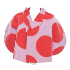 Comme des Garcons Polka Dot Wool Felt Cape, Autumn - Winter 2012