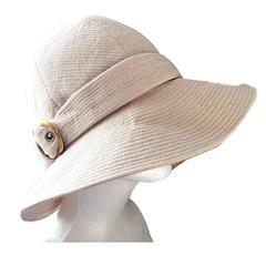 Rare Iconic Yves Saint Laurent Vintage Safari Hat from 1968 Safari Collection