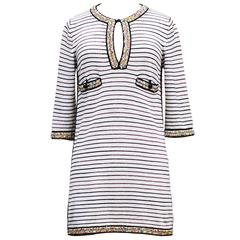 Chanel Amazing Embroidered Sailor Top Lined 2007