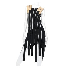 Jean Paul Gaultier Racy Ribbon Body Hugging Dress   New!
