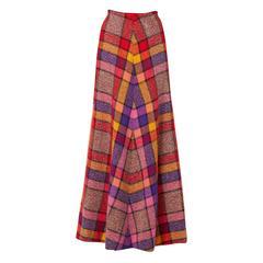 Missoni multicoloured skirt, circa 1975