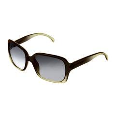 Giorgio Armani Sqaure Ombre Sunglasses with Case