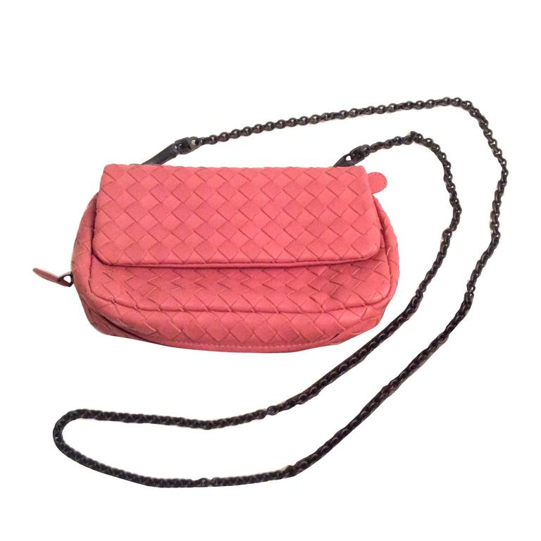 New Bottega Veneta Crossbody / Messenger Bag - Pink
