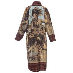 Zang Toi Reversible Silk Faille Evening Coat, Spring - Summer 2001