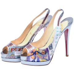 """Christian Louboutin For Barney's Cate """"Trash"""" Shoes Collectors NEW"""