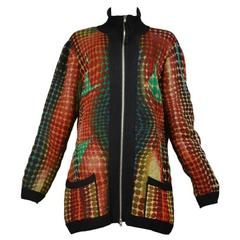 Jean Paul Gaultier Quilted Dot Jacket