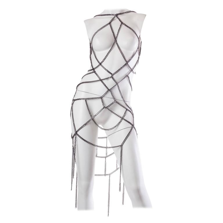 Art Deco inspired Chain Dress