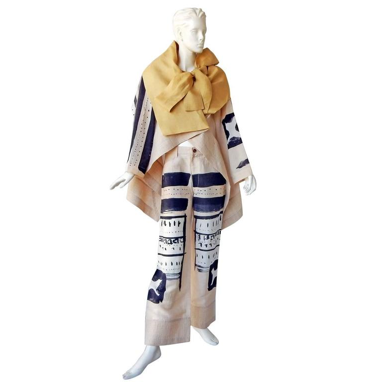 Issey Miyake S/S 1997 Runway Ensemble with Distinctive Graphics  Collectors 1