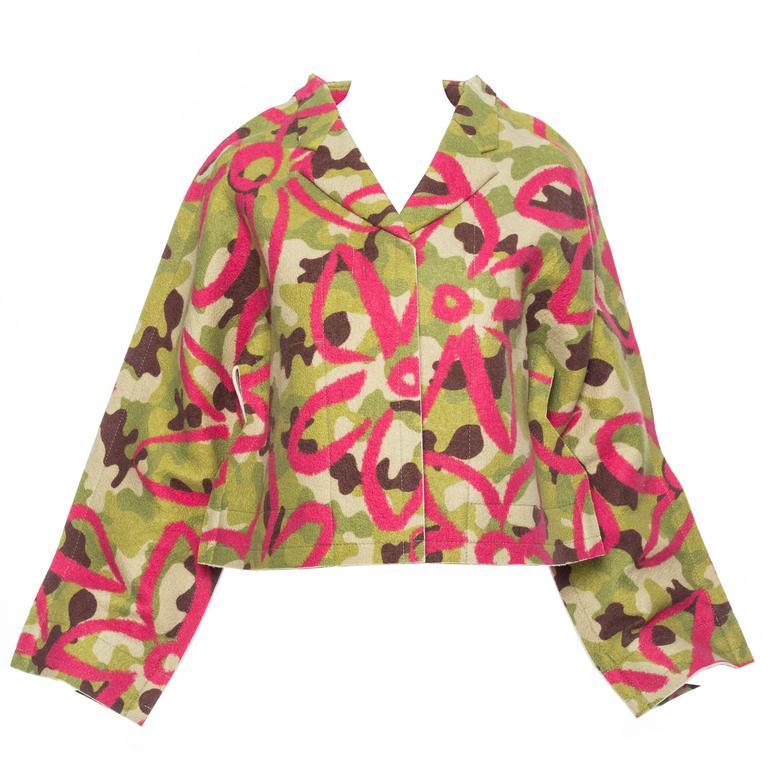 Comme des Garcons Felt Collection Camouflage Jacket, Autumn - Winter 2012