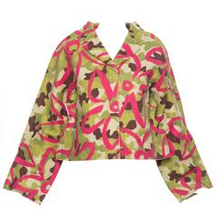 Comme des Garcons Felt Collection Camouflage Jacket, Autumn - Winter 2012