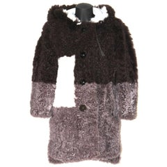 FENDI Rare Lamb Fur Coat