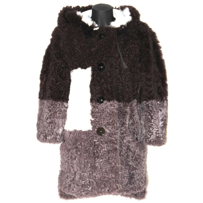 FENDI Rare Lamb Coat