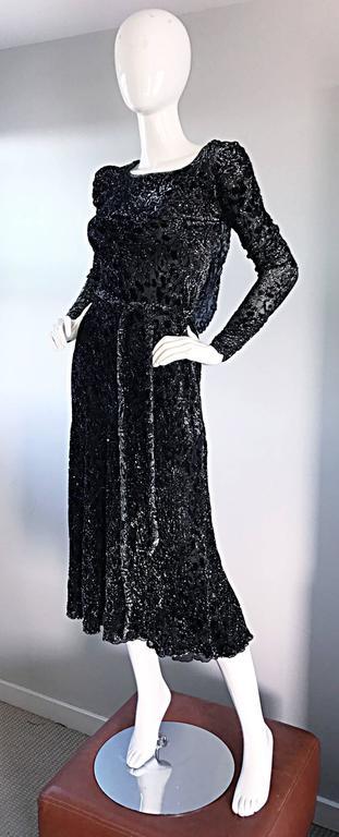 Beautiful Vintage Mary Mcfadden For Neiman Marcus Black