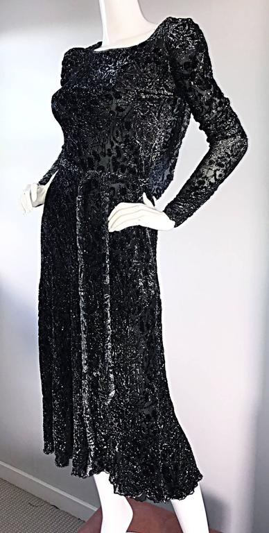 Beautiful Vintage Mary Mcfadden For Neiman Marcus Black