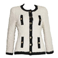 Iconic Collector's CHANEL Signature Boucle Jacket 1994