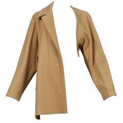 Maison Martin Margiela Tan Basting Coat 1997