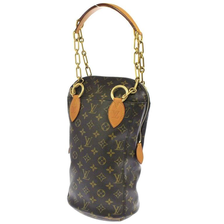 Louis Vuitton Monogram LTD. ED. Chain Top Handle Shoulder Bag For Sale