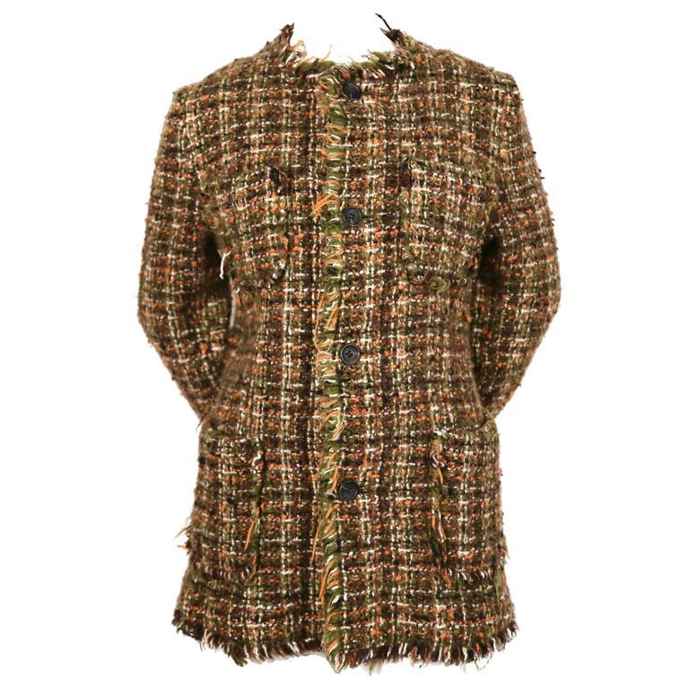 Junya Watanabe Comme des Garcons tweed coat, 2003