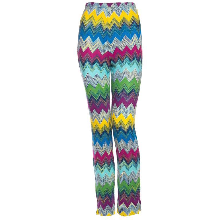 Classic Missoni Knit Pants