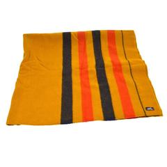 Hermes Multi Wool Striped Men's Women's Travel Throw Blanket
