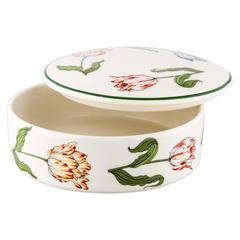 Tiffany & Co Vintage Ceramic Trinket Storage Jewelry Vanity Box with Lid