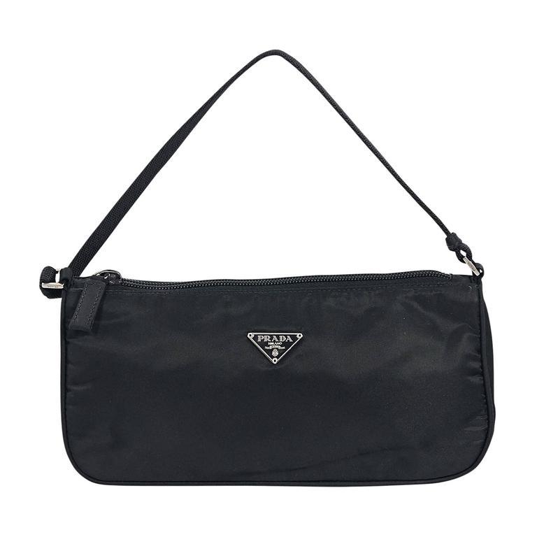 133ae0cab5 Black Prada Nylon Shoulder Bag For Sale at 1stdibs