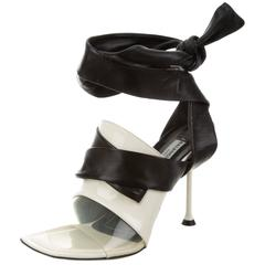Balenciaga NEW & SOLD OUT Cut Out Heels in Box