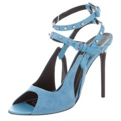 Balenciaga NEW & SOLD OUT Tiffany Blue Cut Out Heels in Box