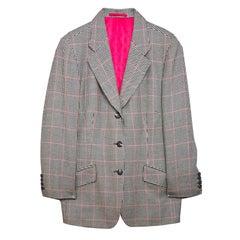 Holland & Sherry Houndstooth Wool Jacket sz US14