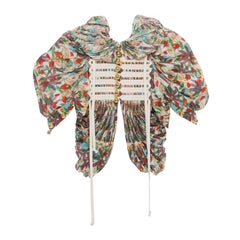 Tao for Comme des Garcons Floral Cotton Pleated Jacket, Spring 2009