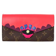 Louis Vuitton Flamingo Monogram Totem Sarah Wallet
