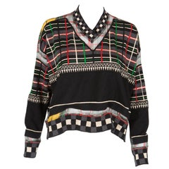 Multicolored Jean Paul Gaultier Wool Sweater