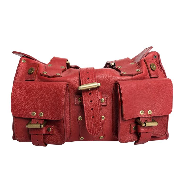 Mulberry Red Leather Roxanne hQnZ3yWM
