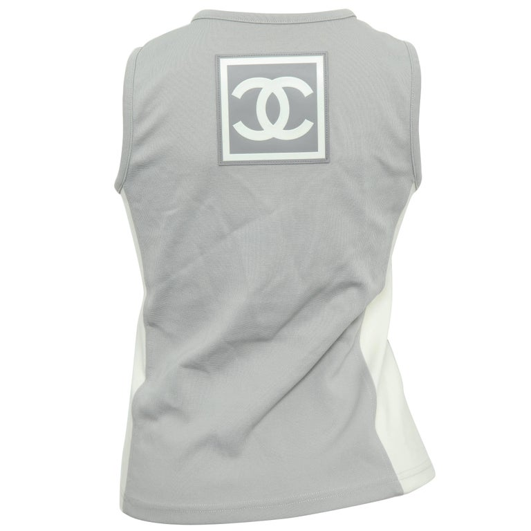 Rare Chanel Sport Logo Tank Top