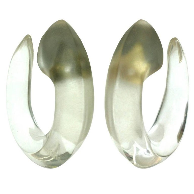 Patricia Von Musulin Frosted Hoops