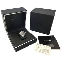 Chanel J12 Black Ceramic Automatic Watch H1626