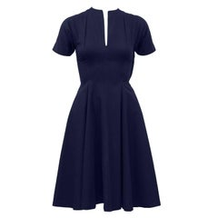 1950's Claire McCardell Navy Dress