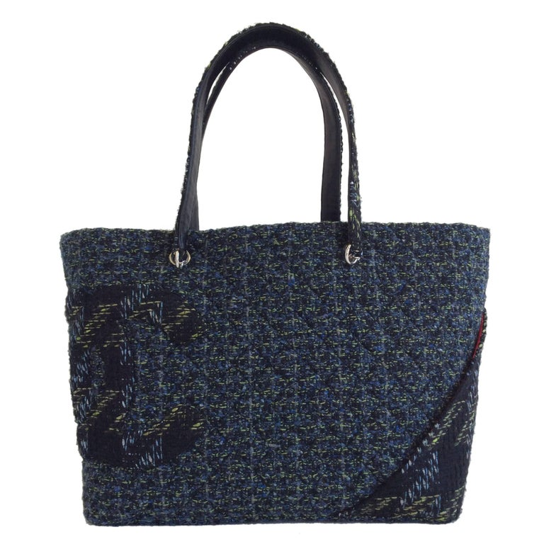 Chanel Tweed Tote