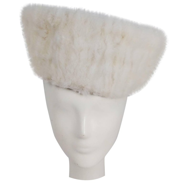 1940s Mink Hat & Muff Set