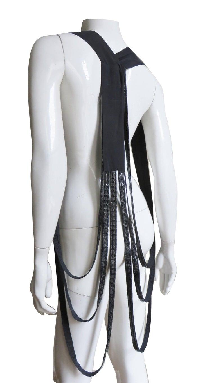 Rozae Nichols Chain Mail Metal Mesh Body Jewelry Vest