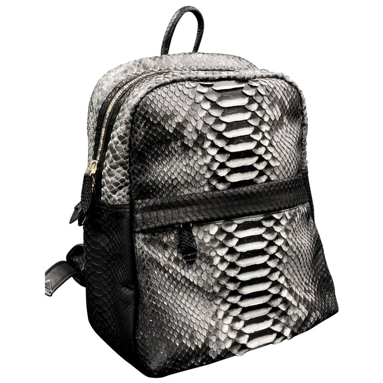 Ana Switzerland Python Backpack  For Sale