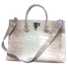 Ana Switzerland Crocodile Handbag