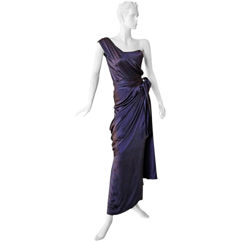 Yves Saint Laurent Haute Couture Red Carpet Runway Gown  1