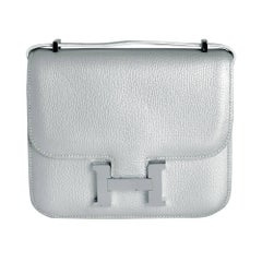 Hermes 18cm Silver Constance Bag
