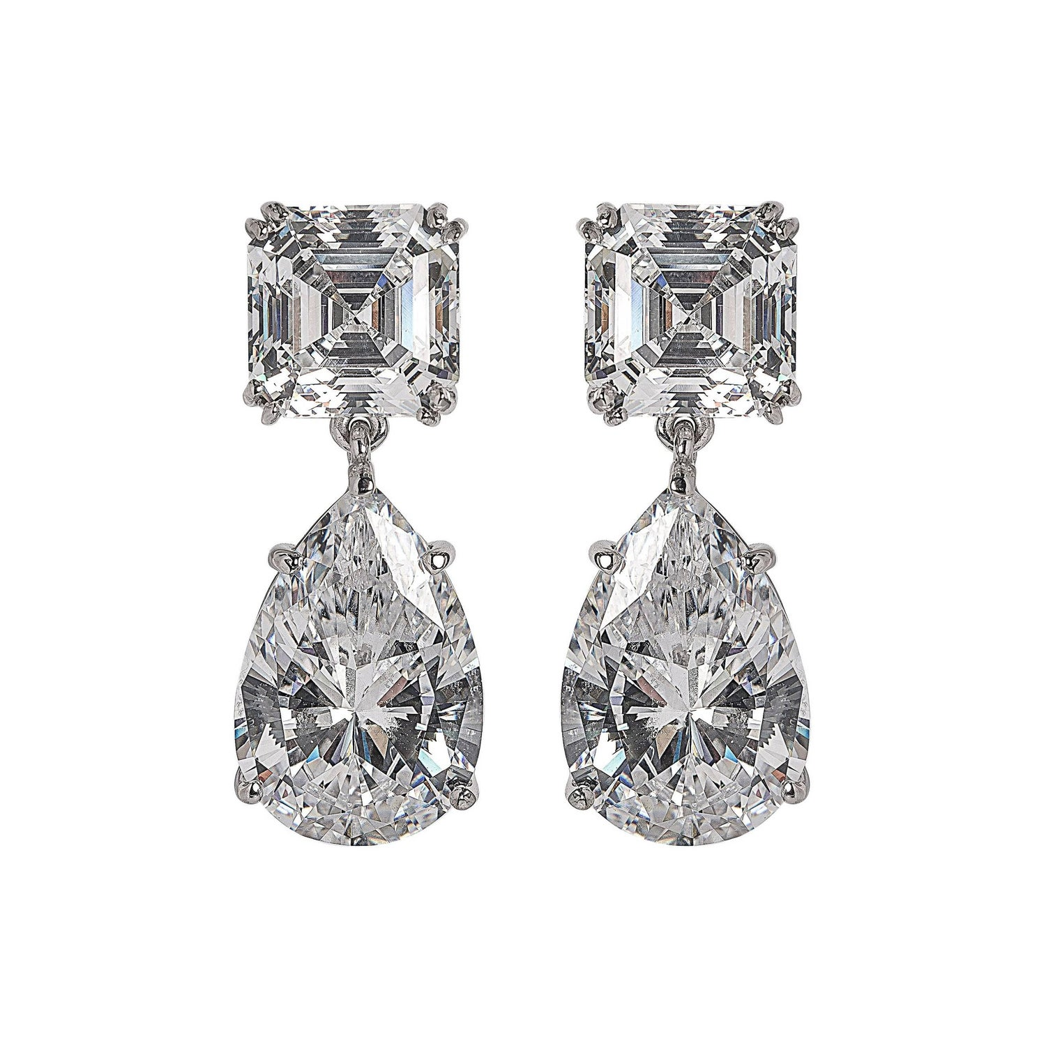 Magnificent costume jewelry chandelier earrings 1stdibs magnificent costume jewelry diamond drop earrings arubaitofo Gallery