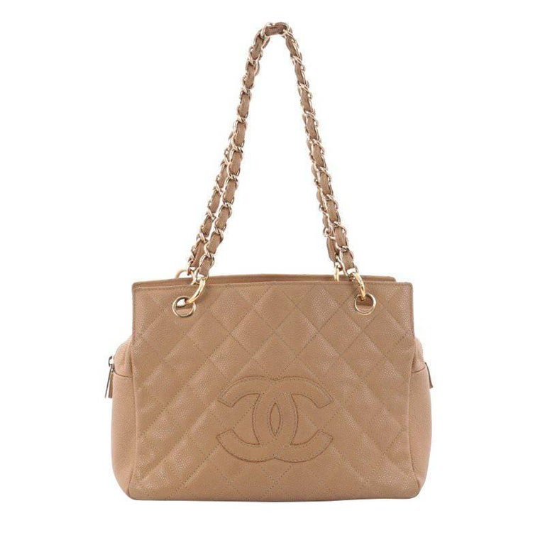 46aa8b8bd9dfab Chanel Petite Timeless Tote Quilted Caviar at 1stdibs