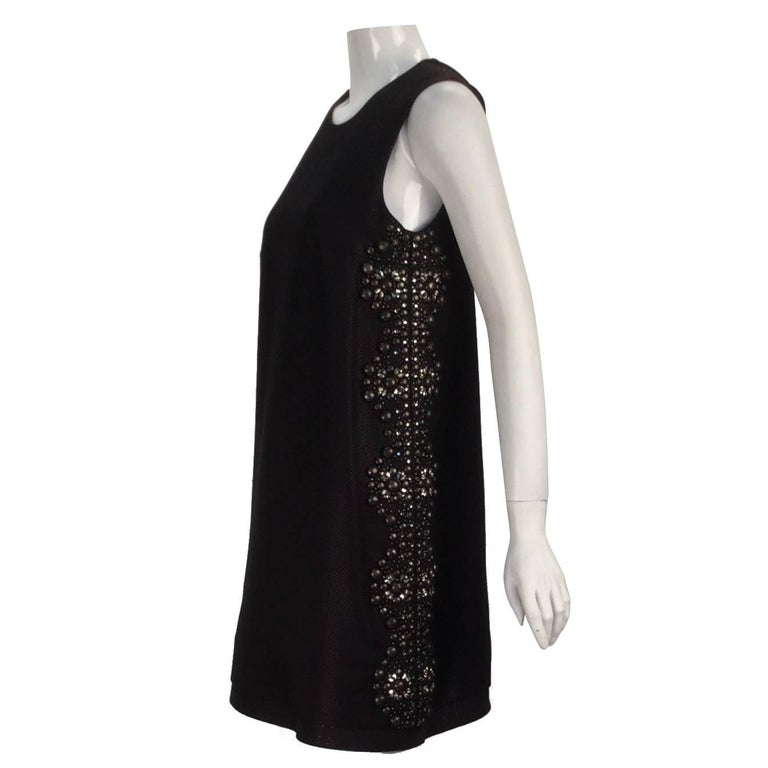 21st Century Black Studded Gucci Dress  For Sale
