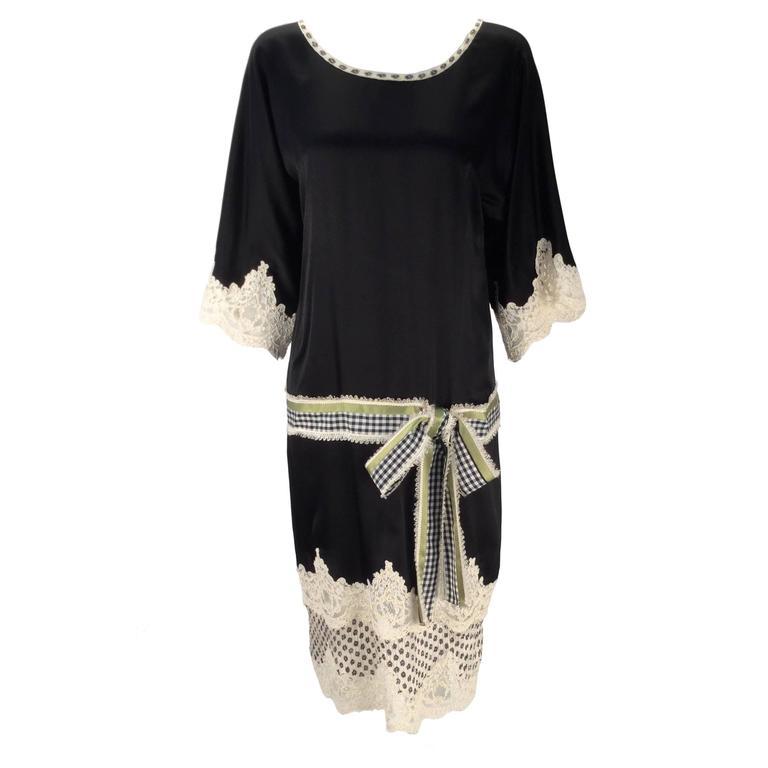 Geoffrey Beene Kimono Sleeve Shift Dress